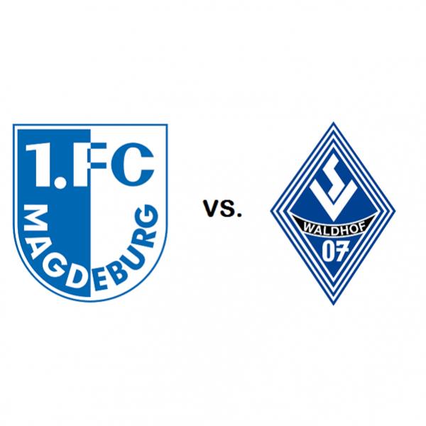 1. FC Magdeburg vs. SV Waldhof Mannheim