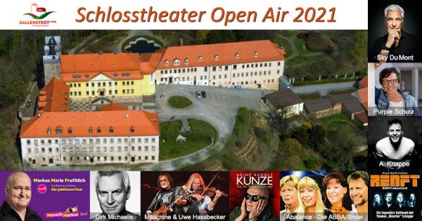 Schlosstheater Open Air 2021 - Ballenstedt